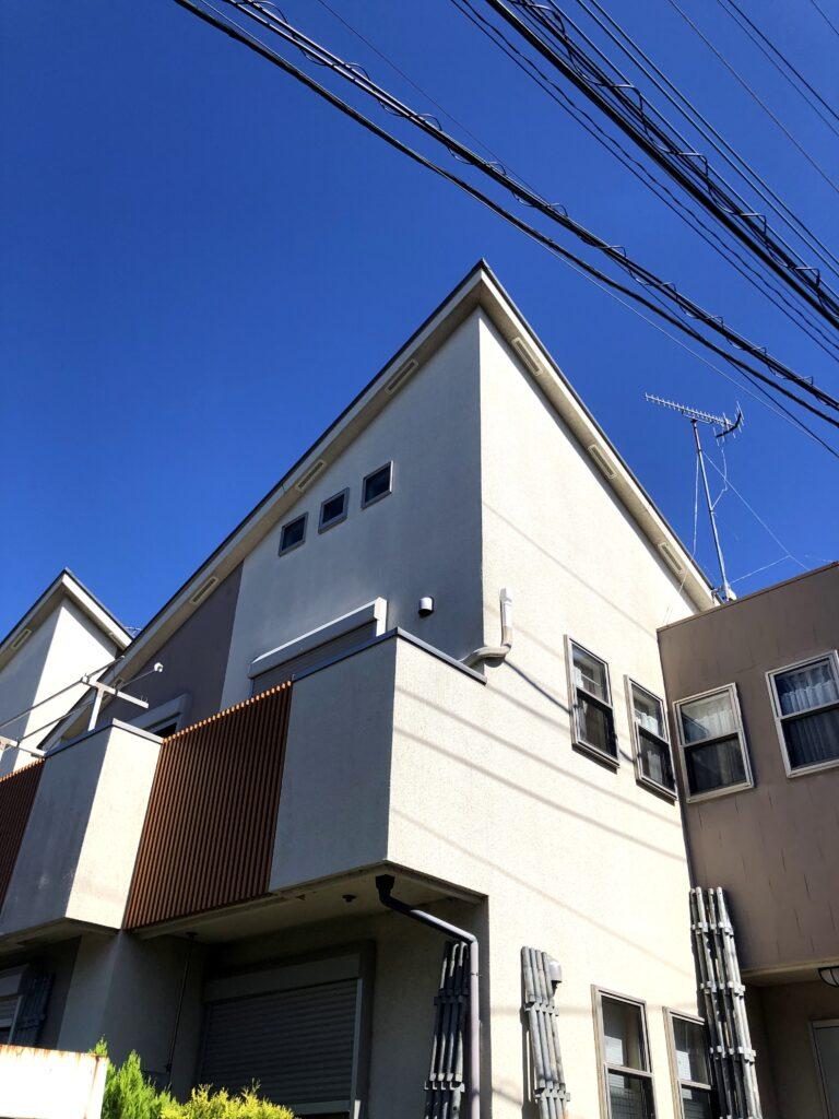 横浜市U様邸外壁塗装